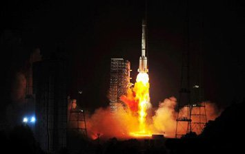 В Китае запущен новый спутник радио- и телевещания
