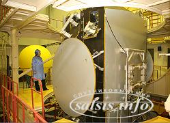 Динамические испытания космического аппарата TELKOM-3