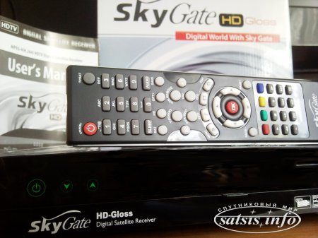 Обзор спутникового HD ресивера SkyGate HD Gloss - размер имеет значение!