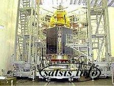 Спутник «Экспресс-АМ4» доставлен на Байконур.