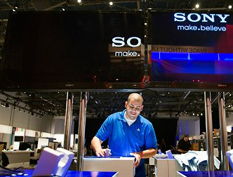 Sony показала телевизор на основе технологии Crystal LED