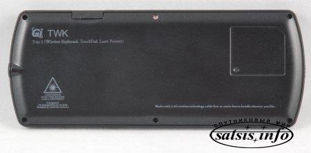 Wi-Fi клавиатура Gi TWK с поддержкой кириллицы