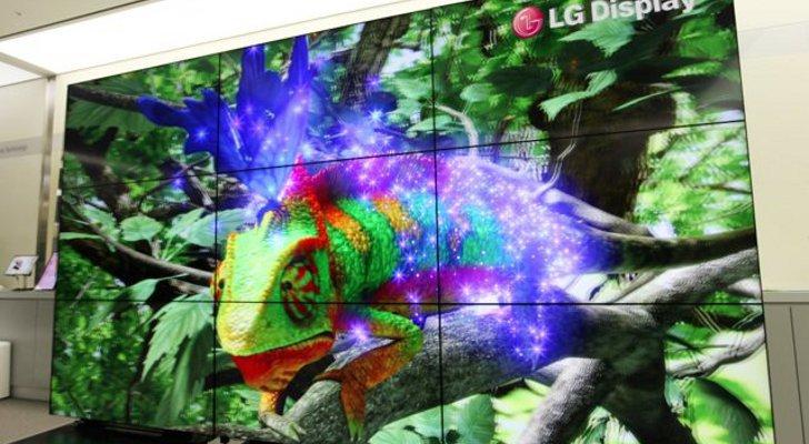 LG продемонстрировала инновационный 165 дюймовый 3D-дисплей