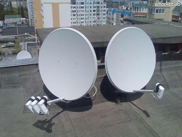 Днепропетровцев заставят демонтировать спутниковые тарелки