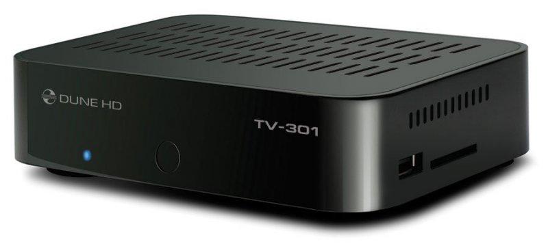 Dune HD TV-301: медиаплеер с поддержкой IPTV и встроенным HDD