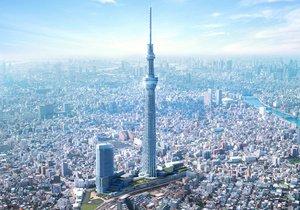 Достучались до небес. Япония представляет новое чудо техники – самую высокую телебашню