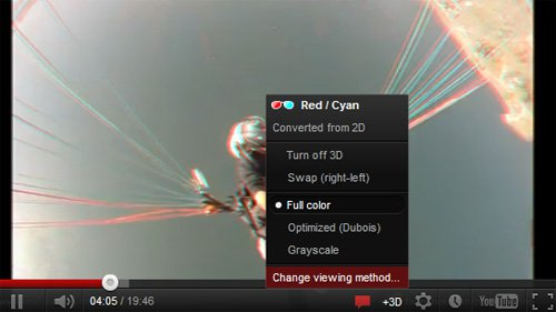 На YouTube обновилась функция просмотра роликов в 3D