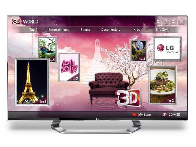 LG объявляет о глобальном запуске приложения для премиум 3D-контента