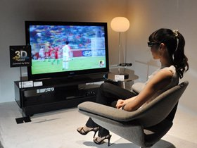 Расширение сегмента 3D TV замедлится