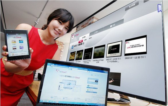 LG Cloud: потоковое мультимедийное «облако» для трёх экранов