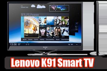 Lenovo выпустила свои первые смарт-телевизоры на ОС Android 4.0