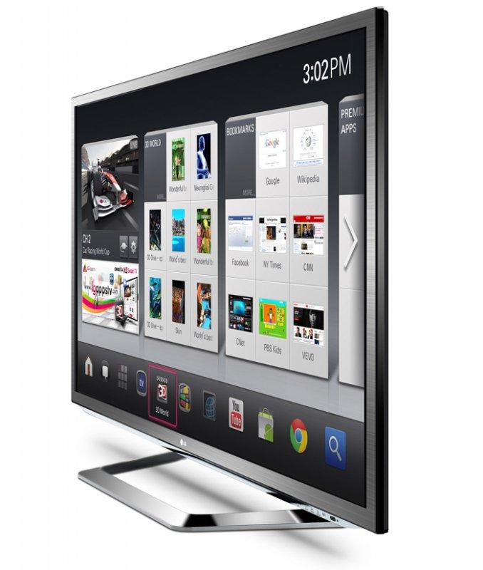 LG показала новый телевизор на платформе Google TV