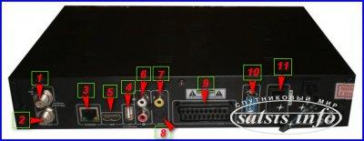 Обзор спутникового ресивера Galaxy Innovations S6638