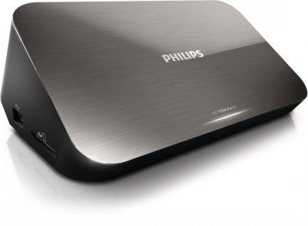 Превратите свой телевизор в Smart TV с 3D благодаря новому HD-медиаплееру Philips HMP7001
