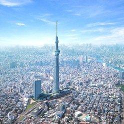 Самая высокая в мире телебашня Tokyo Sky Tree приняла миллионного посетителя