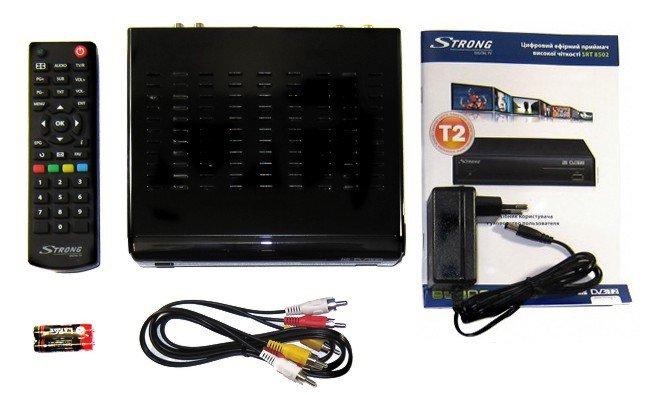 Обзор цифрового приемника Strong SRT 8502