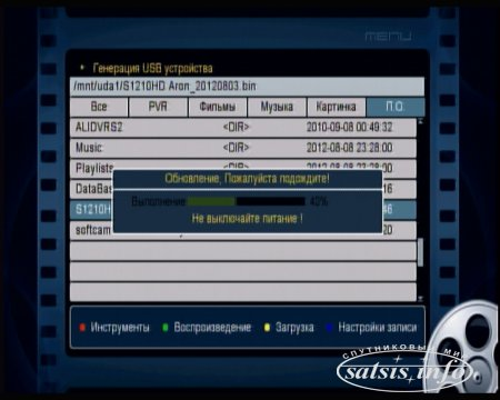 Обзор спутникового HD ресивера Sat-Integral S-1210 HD Aron (Обсуждение новости на сайте)