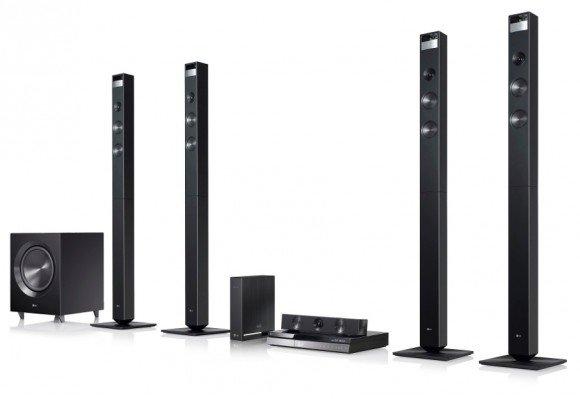 LG показывает аудио- и видеосистемы с Smart TV и расширенными возможностями