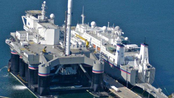 Спутник Eutelat-70B доставлен в базовый порт компании Sea Launch AG