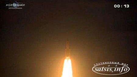 Европейская Ariane-5 вывела на орбиту два телеком-спутника