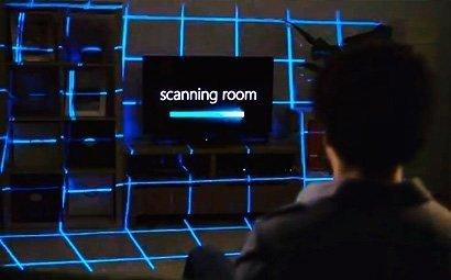 Microsoft превратит гостиную в огромный телевизор