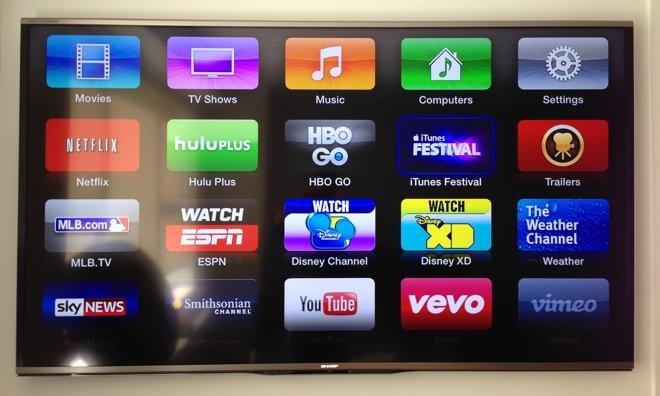 Apple TV покажет музыку и мультики