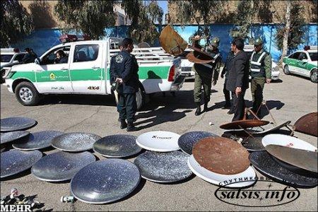 Иран ужесточил борьбу со спутниковыми антеннами
