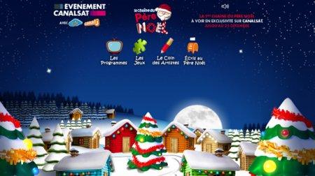 Стартовал праздничный телеканал La Chaîne du Père Noël HD