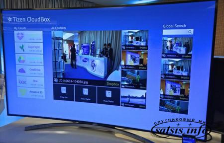 Smart телевизоры Samsung Tizen