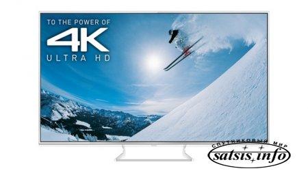 4K телевизоры Panasonic с встроенным спутниковым IP сервером