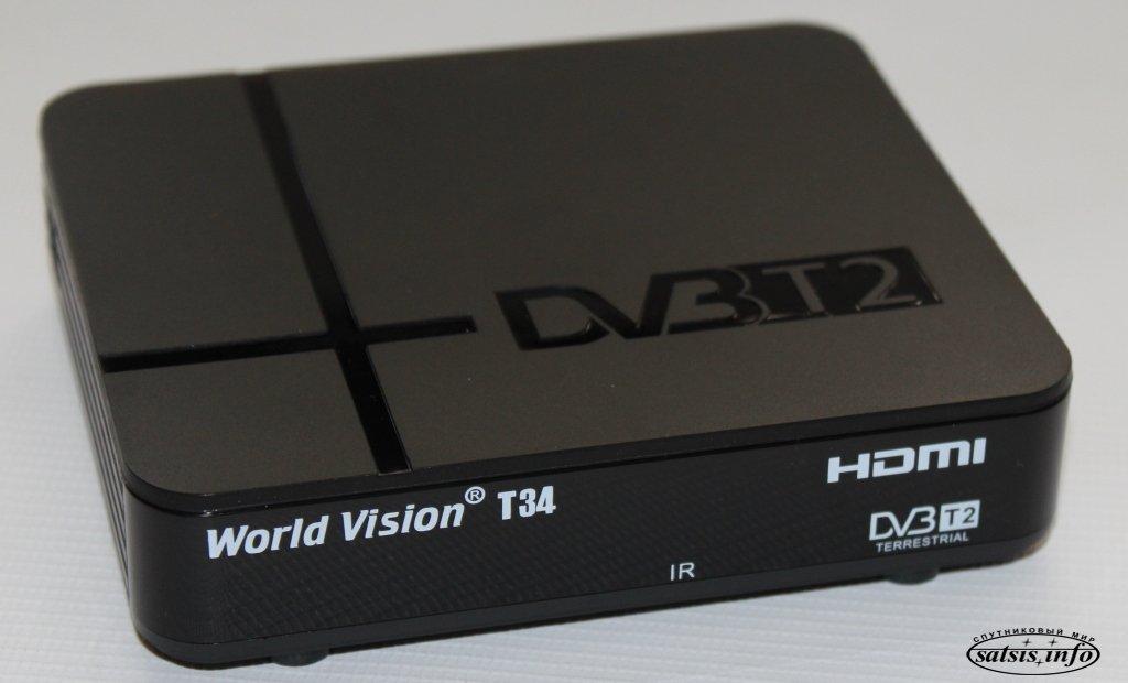 приёмника World Vision T34