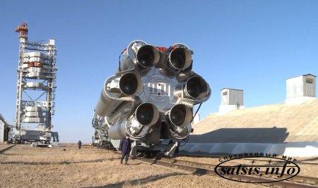 Ракета-носитель «Протон-М» с космическим аппаратом