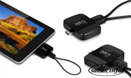 Geniatech PT360 DVB-T2 USB тюнер для устройств Android - телефон превращается...