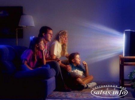 Выросло среднее время просмотра ТВ