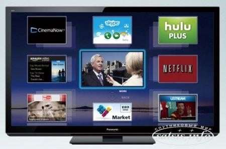 Panasonic запускает спутниковые ТВ каналы в домашнюю сеть