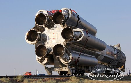 Во время полета ракеты