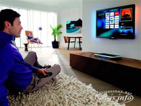 Платное ТВ в России охватило 37,6 млн домохозяйств