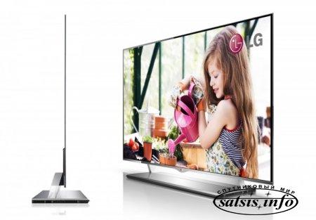 Компания LG развивает OLED технологии. Прототип телевизора 1мм толщиной