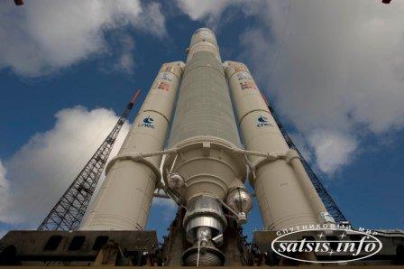 Ракета Ariane-5 успешно вывела на орбиту два спутника