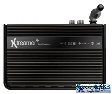 Xtreamer SideWinder4 Android TV box c поддержкой XBMC, Google Cast и эфирного телевидения DVB-T2T