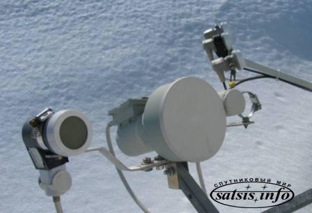 Экспресс АМ22 80°E нового положения с первого тестового ТВ