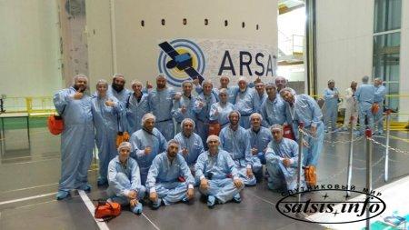 Cпутник Arsat 2 направляется во Французскую Гвиану