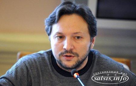 Юрий Стець протестует против отключения сигнала Общественного