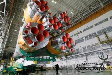 Роскосмос: РН «СОЮЗ-ФГ» С ТПК «СОЮЗ ТМА-18М» доставлена на стартовый комплекс