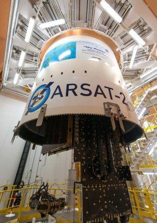 Ракета Ariane вывела на рабочие орбиты два спутника связи