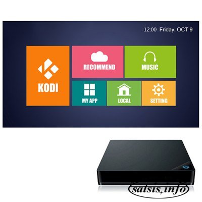 MRX TV Box Amlogic S905 Quad Core