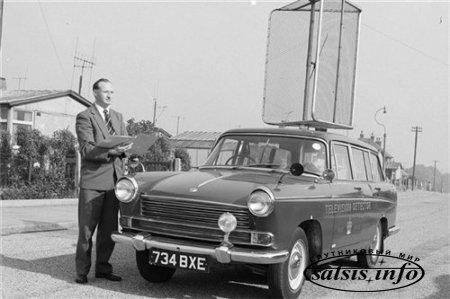 Пеленгатор телевизоров из 50-х.