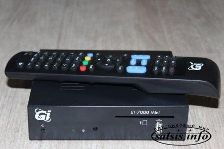 Обзор спутникового HD ресивера GI ET7000 Mini