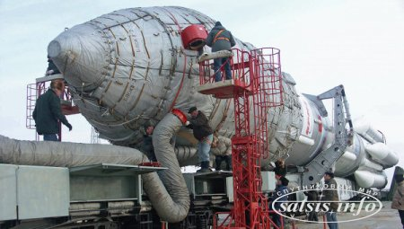 На Байконур доставили ракету для ExoMars-2016
