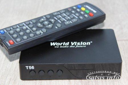 Обзор эфирного DVB-T2 ресивера World Vision T56